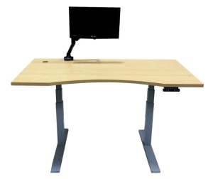 The Executive Adjustable Height Table - AdjustableSurfaces.com